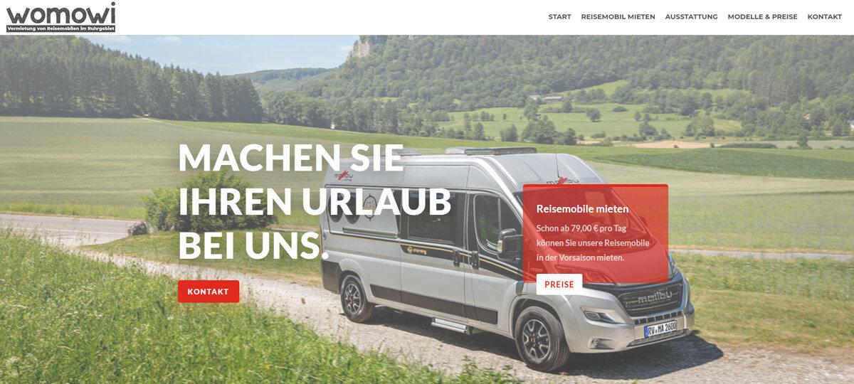 Referenz Reisemobil Vermietung